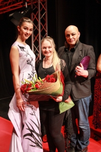 Cult Couture winner winning design, winner Trish Strongman, Lindah Lepou