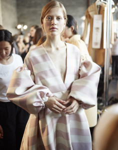 From Emilia Wickstead's London Fashion Week SS16 show (by jamie baker)