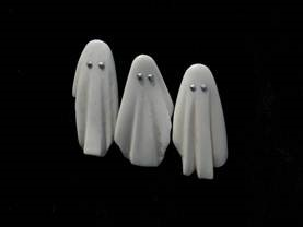 Jane Dodd - Bone 'Ghost Brooches'