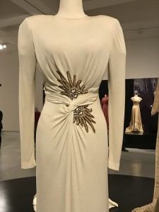 Edith Head Grecian Style Gown worn by Lizabeth Scott in I Walk Alone 1947 waist