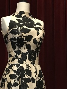 Edtih Head Pattern and Texture cocktail dress worn by Martha Hyer in Wives and Lovers 1963