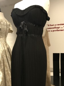 Edtih Head black nightgown worn by Gloria Swanson Sunset Boulevard 1950