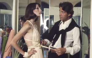 An impressive Halston dress