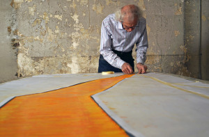 Christo at work